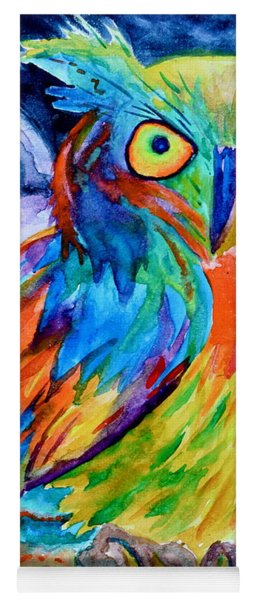 Ampersand Owl Yoga Mat