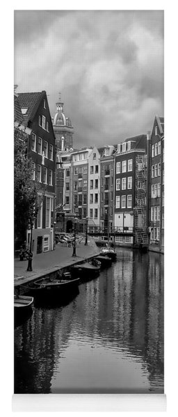 Amsterdam Canal Yoga Mat