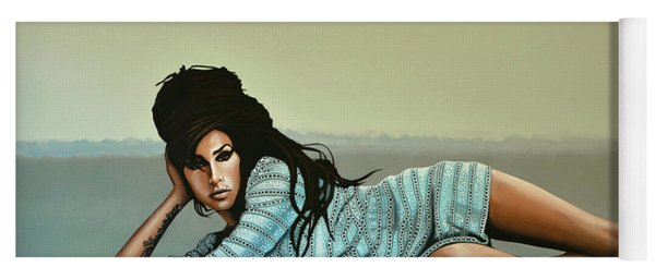 Amy Winehouse 2 Yoga Mat