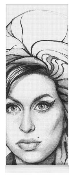Amy Winehouse Yoga Mat