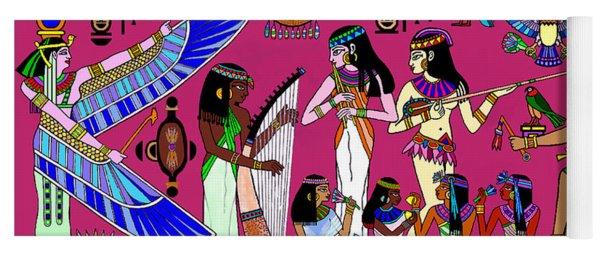 Ancient Egypt Splendor Yoga Mat