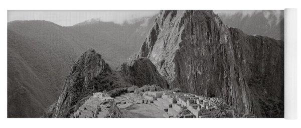 Ancient Machu Picchu Yoga Mat