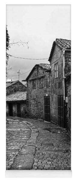 Ancient Street In Tui Bw Yoga Mat