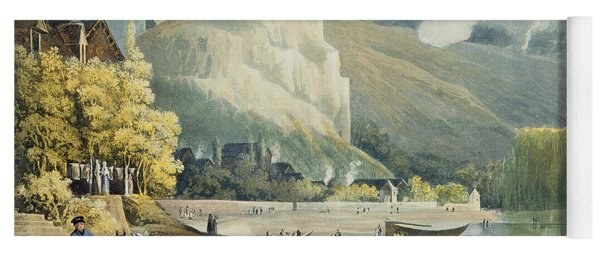 Andely, From Views On The Seine Yoga Mat