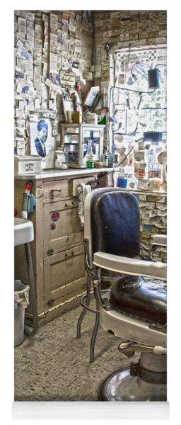 Angel Delgadillo's Barber Shop Yoga Mat