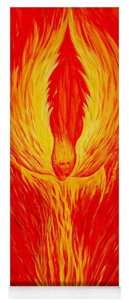 Angel Fire Yoga Mat