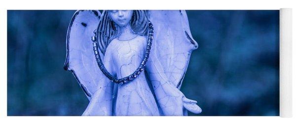Angel Of The Rain Yoga Mat