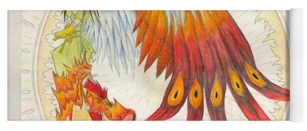 Angel Phoenix Yoga Mat