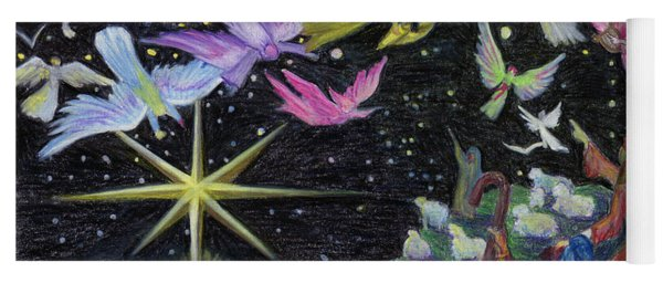 Angel Skies Yoga Mat