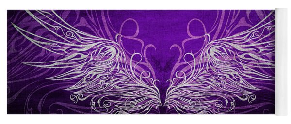 Angel Wings Royal Yoga Mat