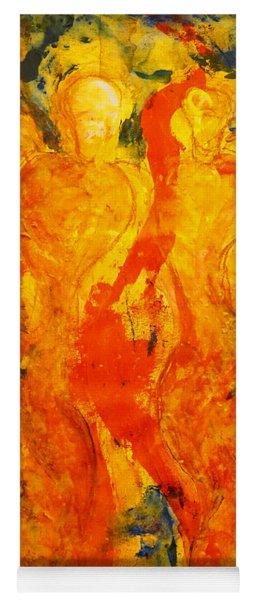 Angels Of Passion Yoga Mat