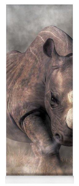Angry Rhino Yoga Mat