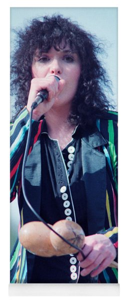 Ann Wilson Of Heart At 1981 Day On The Green In Oakland Ca Yoga Mat