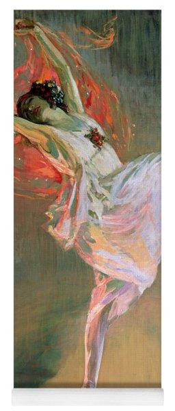 Anna Pavlova, 1910 Yoga Mat