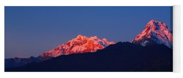 Annapurna South Massif Yoga Mat