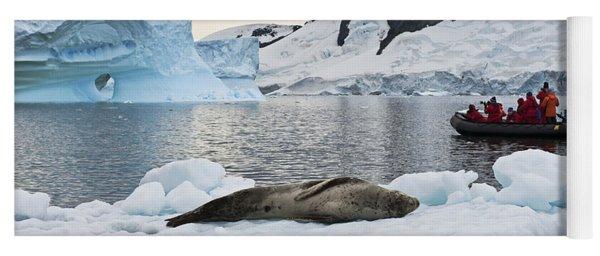 Antarctic Serenity... Yoga Mat