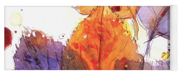 Anticipating Autumn Yoga Mat