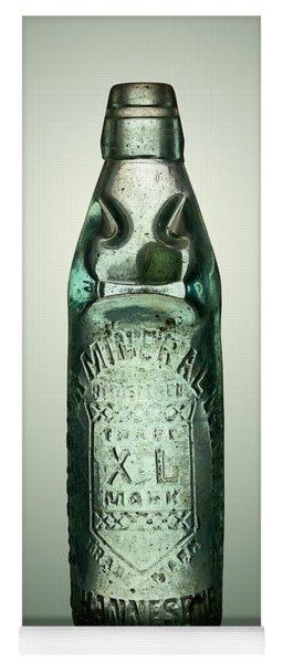 Antique Mineral Glass Bottle Yoga Mat