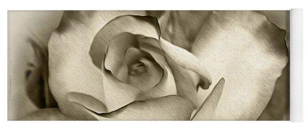 Antique Rose Yoga Mat
