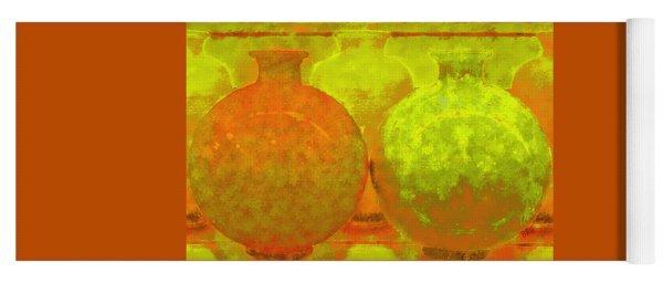 Antique Vases Yoga Mat