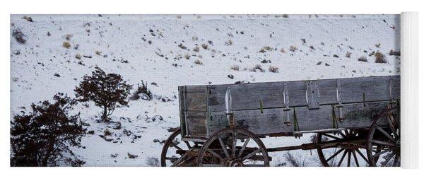 Antique Wagon Yoga Mat