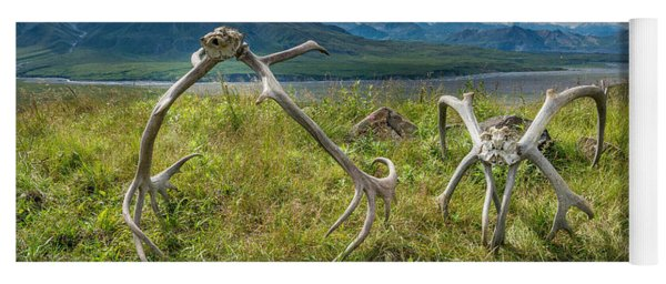 Antlers On The Hill Yoga Mat