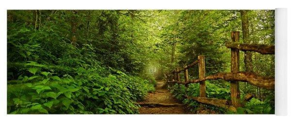 Appalachian Trail At Newfound Gap Yoga Mat