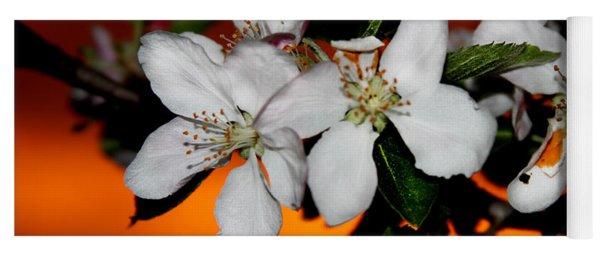 Apple Blossom Sunrise I Yoga Mat