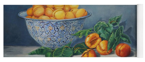 Apricots And Peaches Yoga Mat