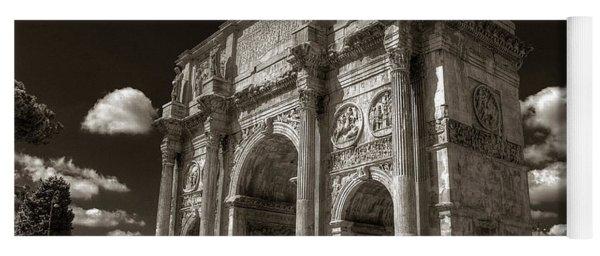 Arch Of Constantine Yoga Mat