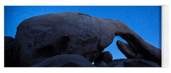 Arch Rock Starry Night 2 Yoga Mat