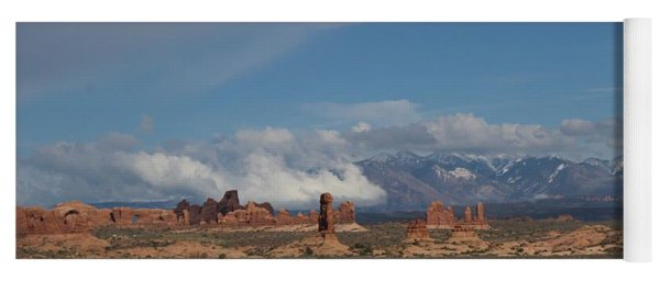 Arches National Monument Utah Yoga Mat