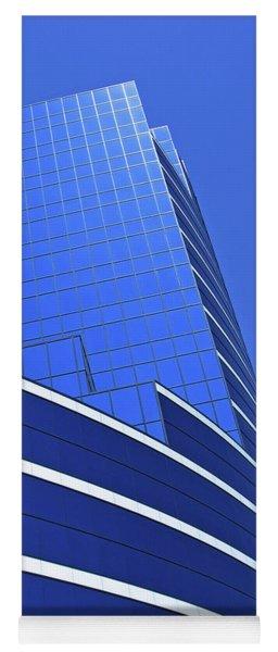Architectural Blues Yoga Mat