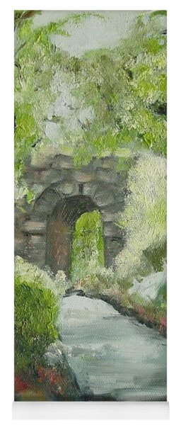 Archway In Central Park Yoga Mat