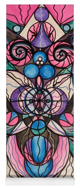 Arcturian Healing Lattice  Yoga Mat