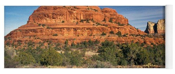 Arizona Sedona Bell Rock  Yoga Mat