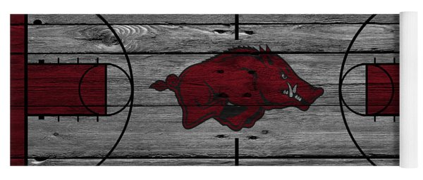 Arkansas Razorbacks Yoga Mat