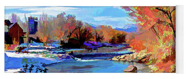 Arkansas River In Salida Co Yoga Mat