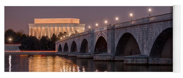 Arlington Memorial Bridge Yoga Mat