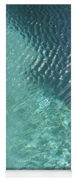 Art Homage David Hockney Swimming Pool Arizona City Arizona 2005 Yoga Mat
