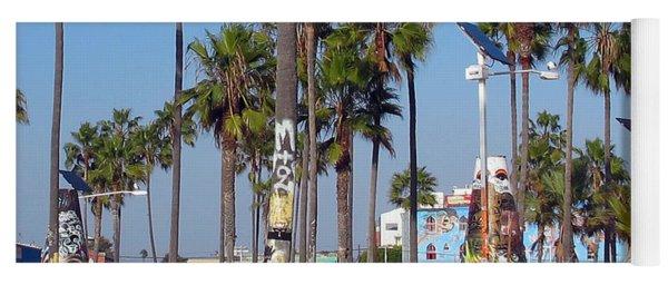 Art Of Venice Beach Yoga Mat