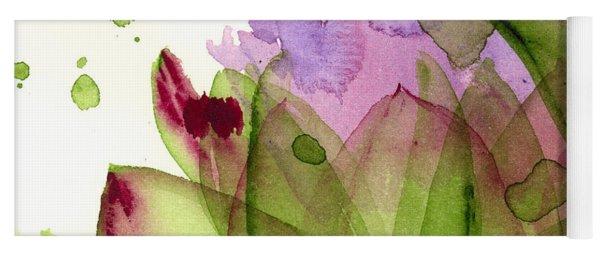 Artichoke Flower Yoga Mat
