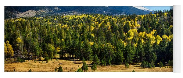 As Fall Arrives In Arizona  Yoga Mat