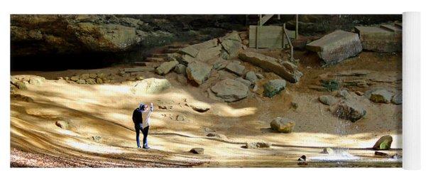 Ash Cave In Hocking Hills Yoga Mat