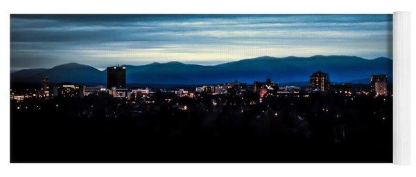 Asheville Skyline Yoga Mat