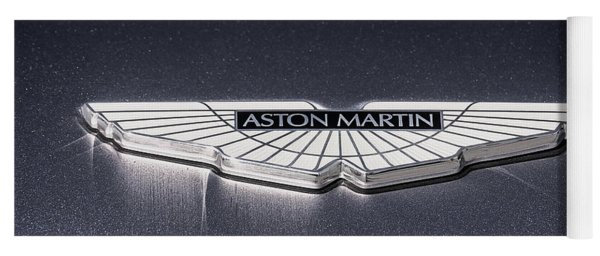 Aston Martin Badge Yoga Mat