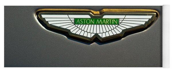 Aston Martin Emblem Yoga Mat