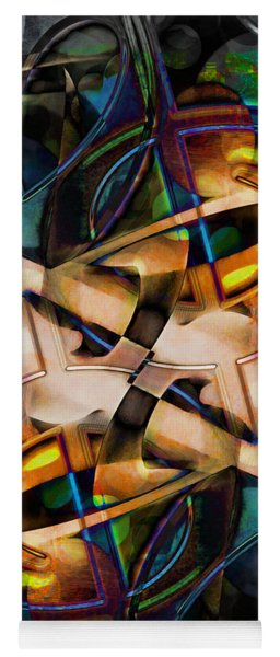 Asturias In G Minor Abstract Yoga Mat