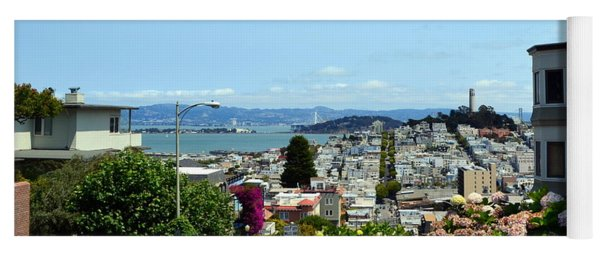 At The Top - Lombard Street Yoga Mat