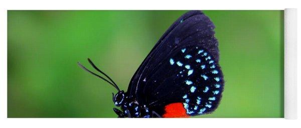 Atala Butterfly Yoga Mat